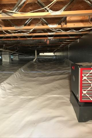 Crawl Space Encapsulation - Mount Airy, MD