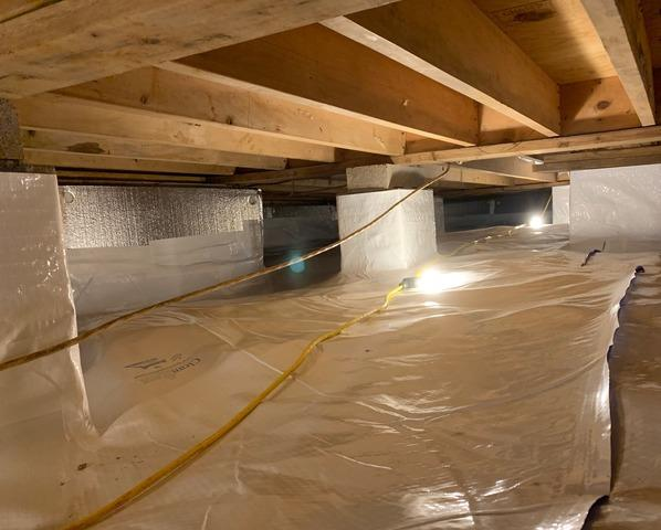 Crawl Space Encapsulation - Lynchburg, VA