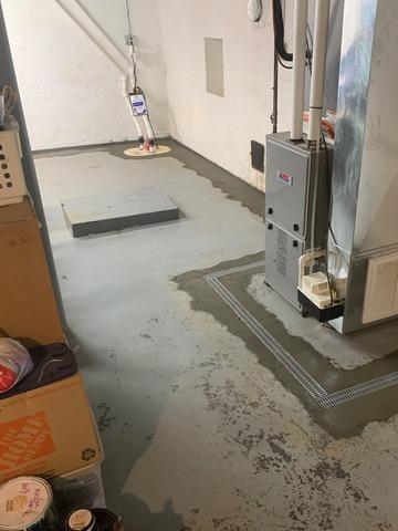 Basement Waterproofing - Roanoke, VA