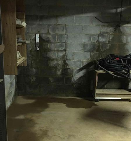 Rustburg, VA Basement Waterproofing & Bowing Wall Repair