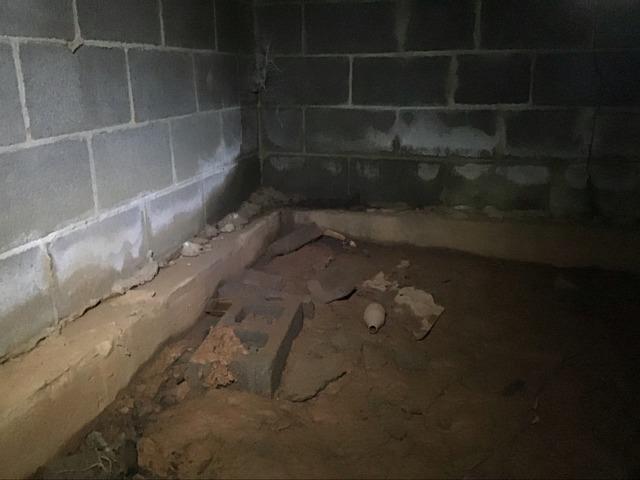 Amherst, VA Crawl Space Waterproofing
