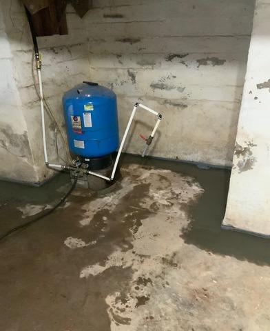 Crozet, VA Basement Waterproofing