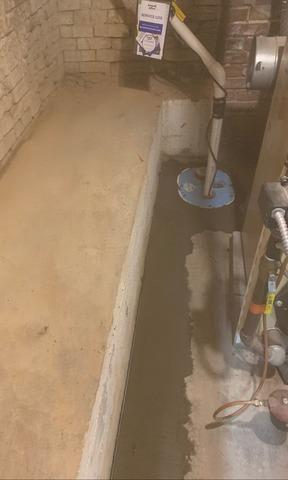 Strasburg, VA Basement Waterproofing