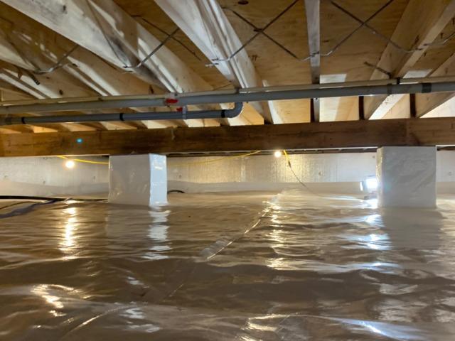 Crawl Space Encapsulation - Culpepper,VA