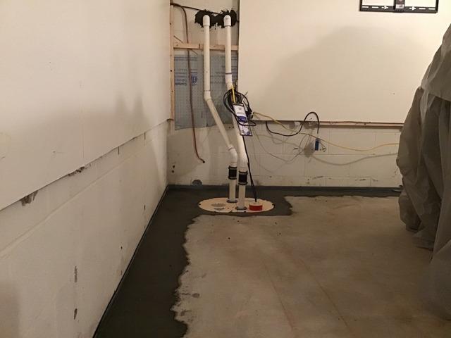 Basement Waterproofing - Concord, VA