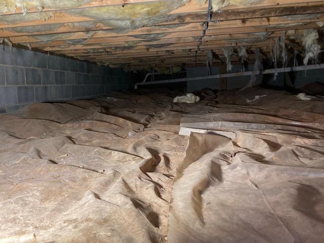 Culpeper, VA Crawl Space Encapsulation
