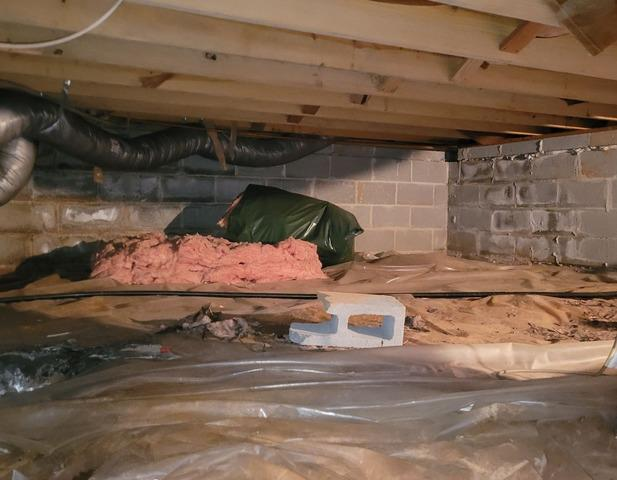 Earlysville, VA Crawl Space Waterproofing