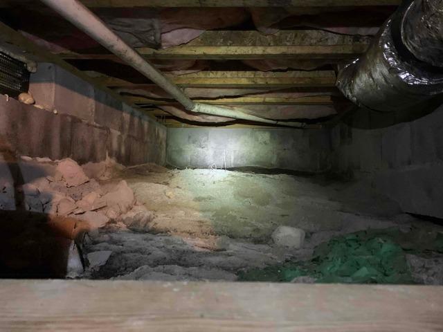 Crawl Space Encapsulation - Chatham, VA