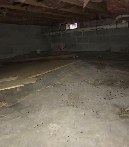 Walkersville, MD Crawl Space Encapsulation