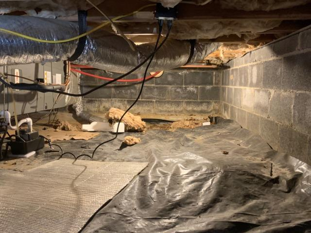 Crawl Space Encapsulation - Cedar Bluff, VA