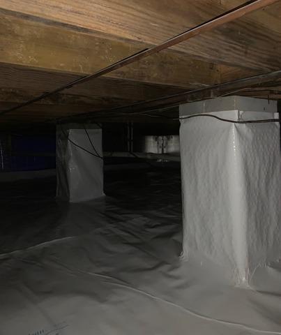 Pulaski, VA Crawl Space Encapsulation