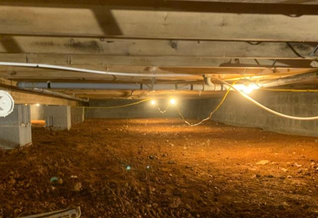 Crawl Space Encapsulation - Culpeper, VA