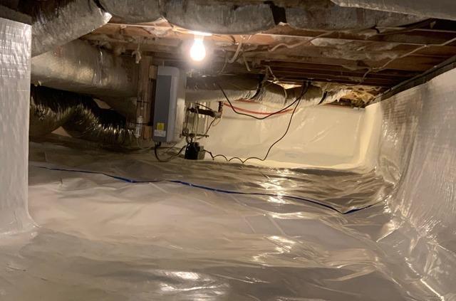 Cedar Bluff, VA Crawl Space Waterproofing