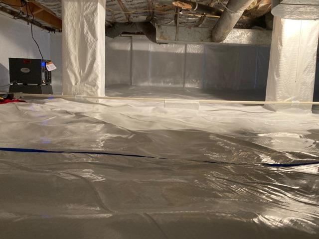 Crawl Space Encapsulation - Collinsville, VA
