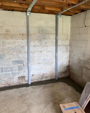 Hillsville, VA Waterproofing & Bowing Wall