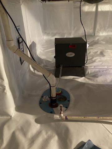 Collinsville, VA Crawl Space Waterproofing