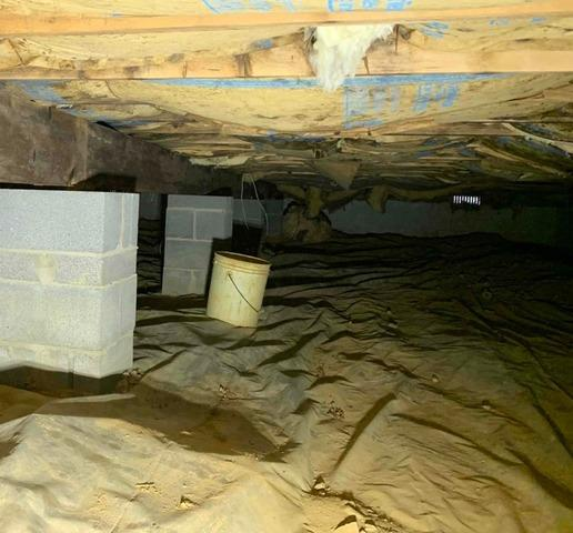 Stanley, VA Crawl Space Waterproofing