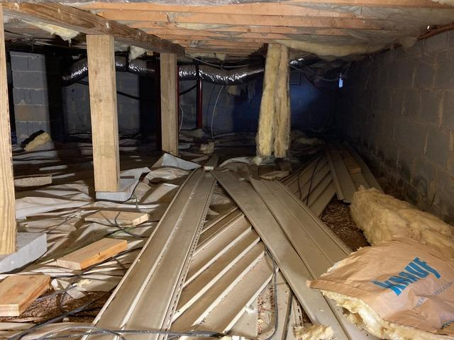 Hurt, VA Crawl Space Encapsulation & Sagging Floor Repair