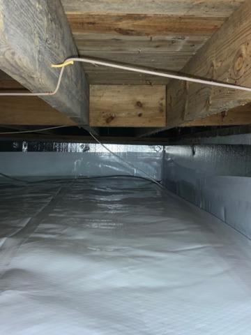 Crawl Space Encapsulation - Natural Bridge, VA