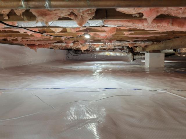 Crawl Space Encapsulation - Winchester, VA