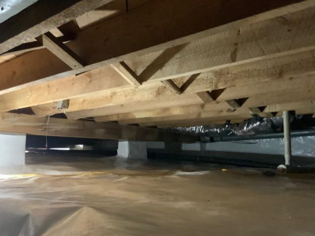 Crawl Space Encapsulation - South Boston, VA