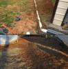 Pittsville, VA French Drain Installation