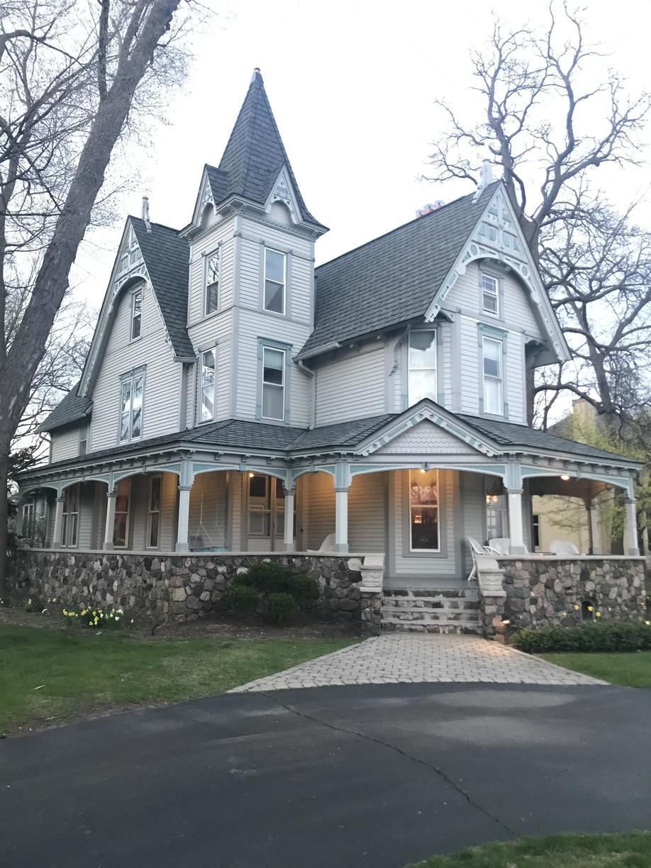 Rhino Shield on Historic Home in West Bloomfield, MI - Before Photo