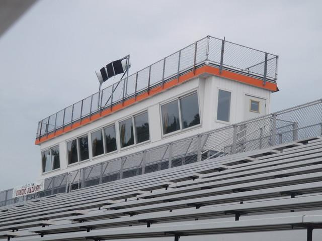 Brighton High School Press Box with Rhino Shield