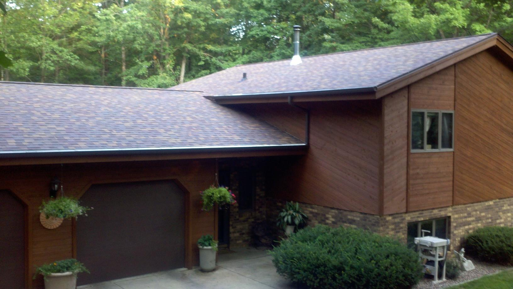 Roofing job in Wausau, WI - After Photo
