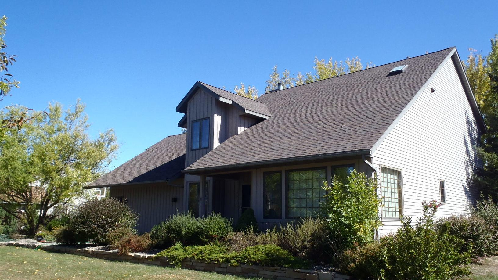 Roof Replacement in Wausau WI - After Photo