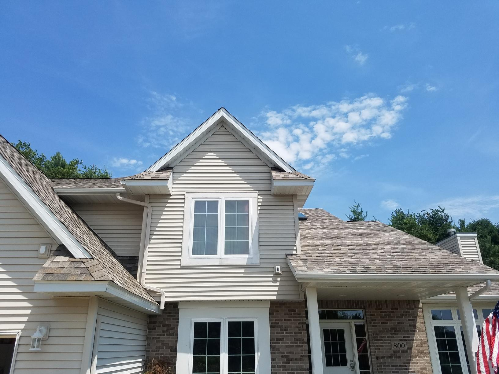 Roof replacement in Stettin WI - After Photo