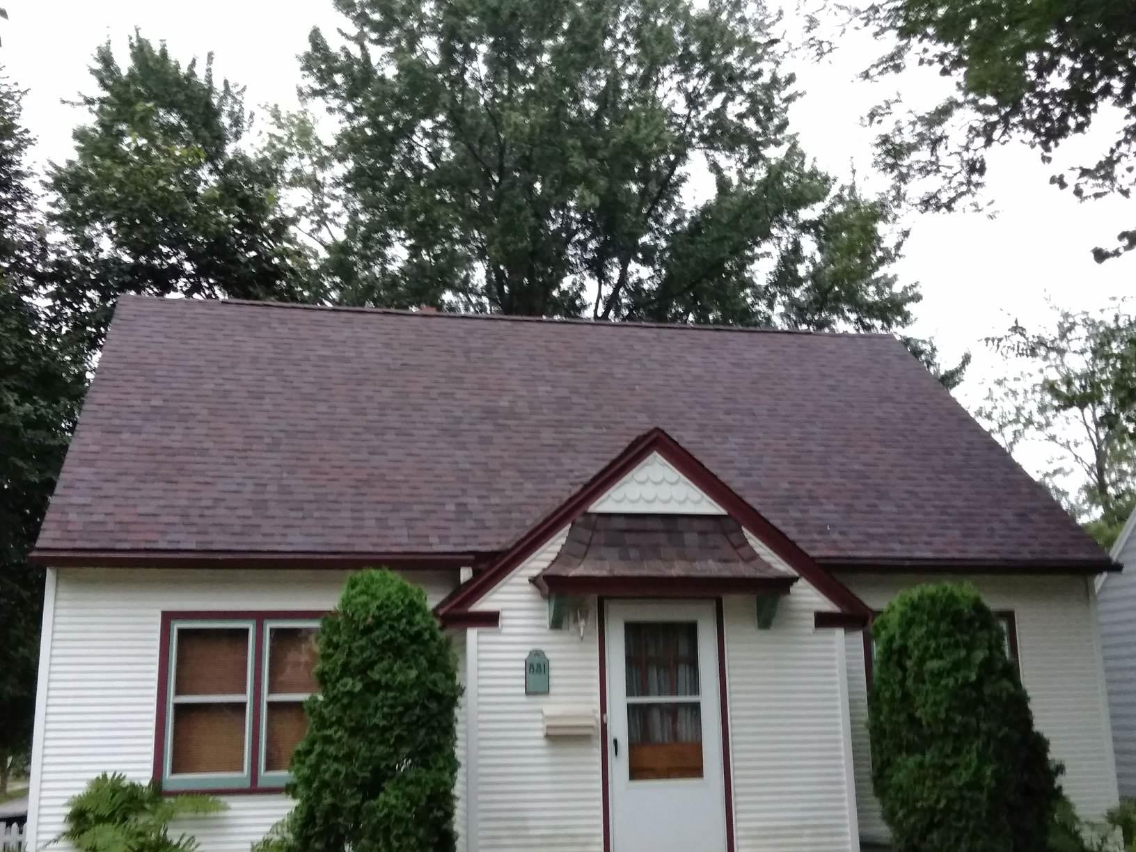 Re-roof in Wausau WI - After Photo