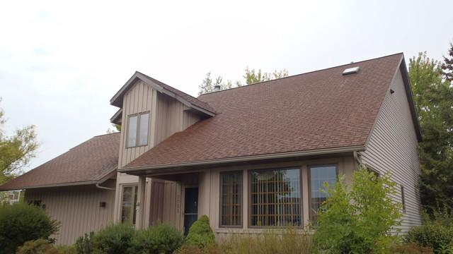 Roof Replacement in Wausau WI - Before Photo