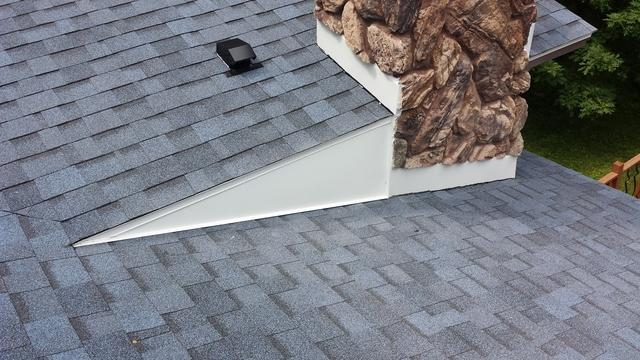 Much needed Roof Replacement & Chimney Flashing  in Weston, WI - After Photo