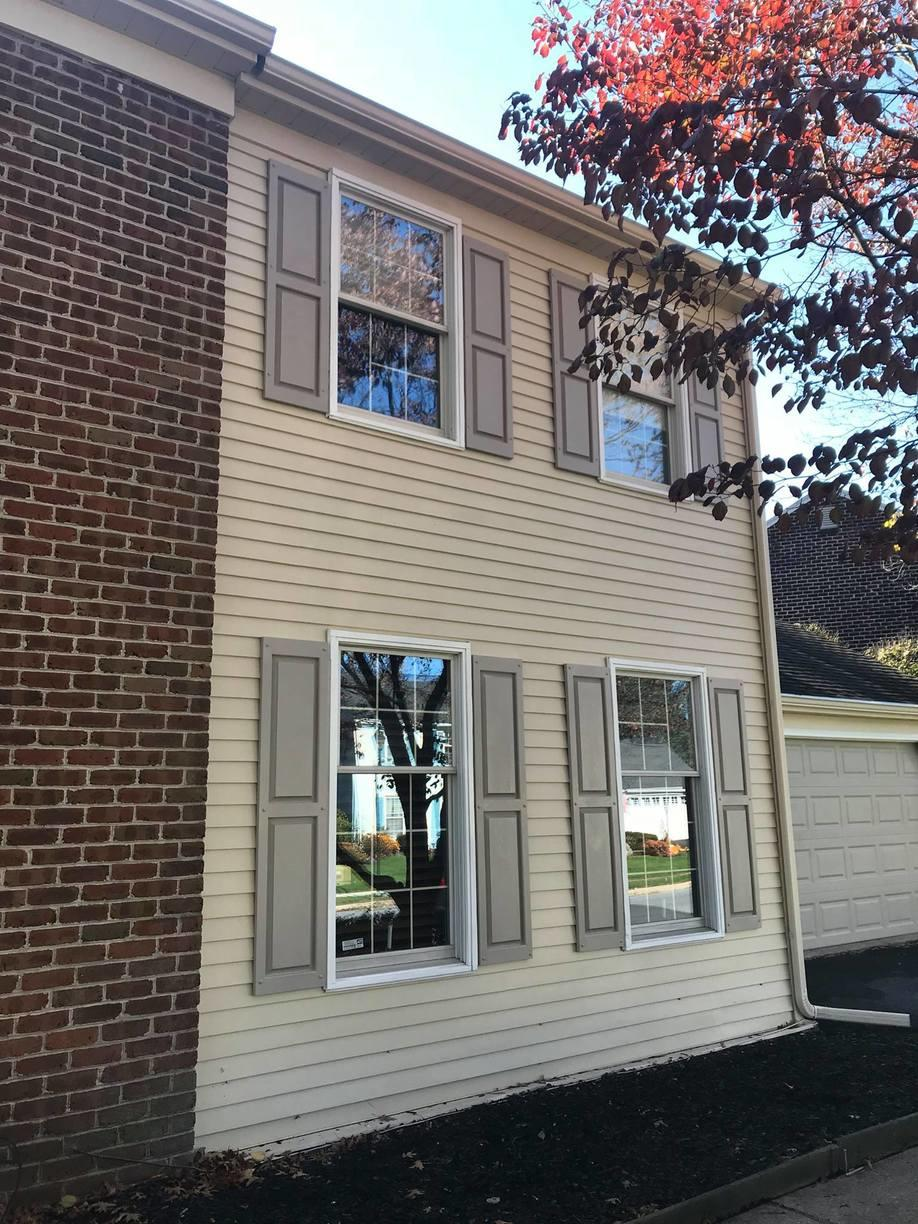 Aluminum Siding Painted in Mechanicsburg, PA - After Photo