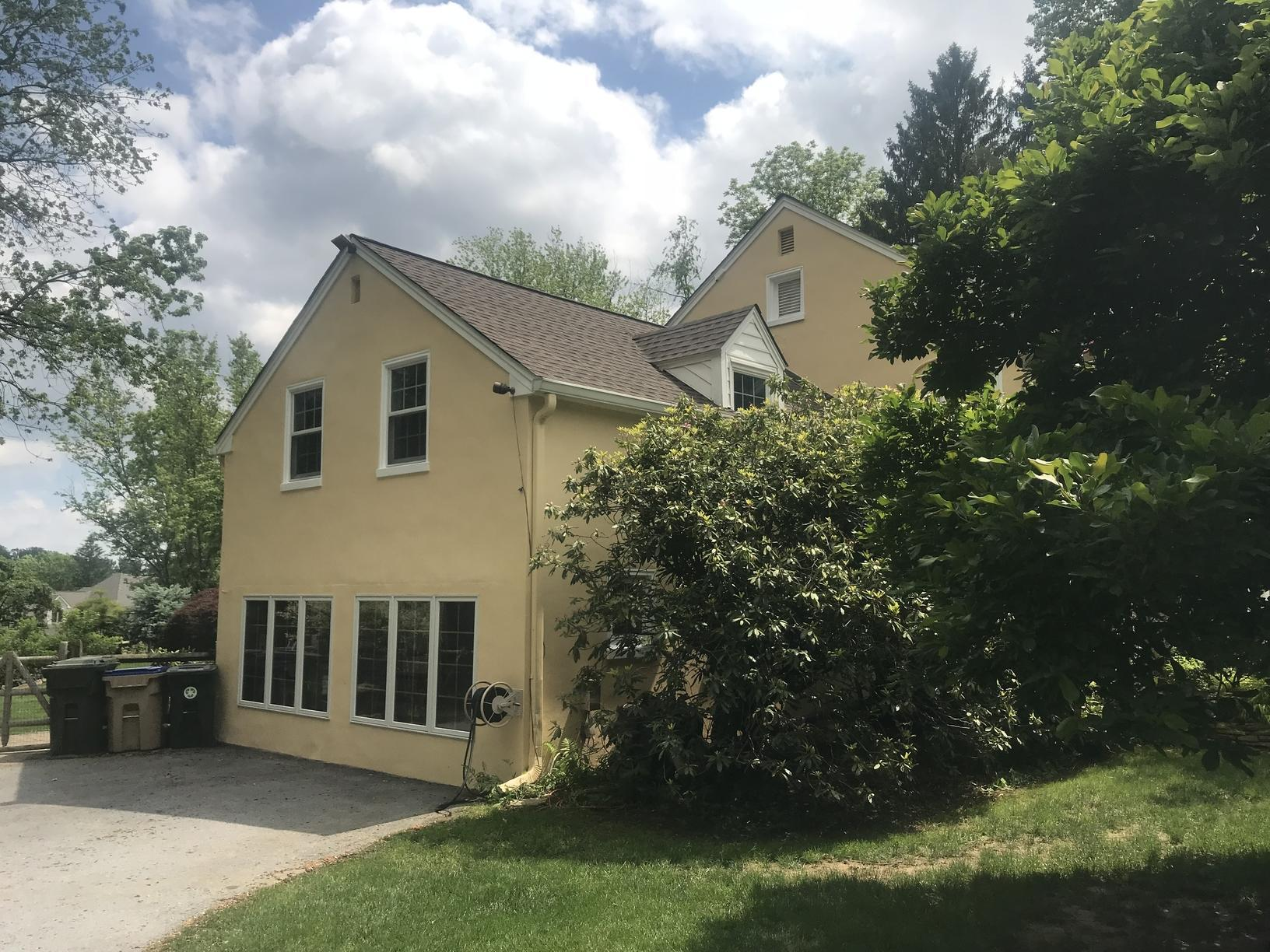 Stucco Sealed with Rhino Shield Primer in Newtown Square, PA - After Photo