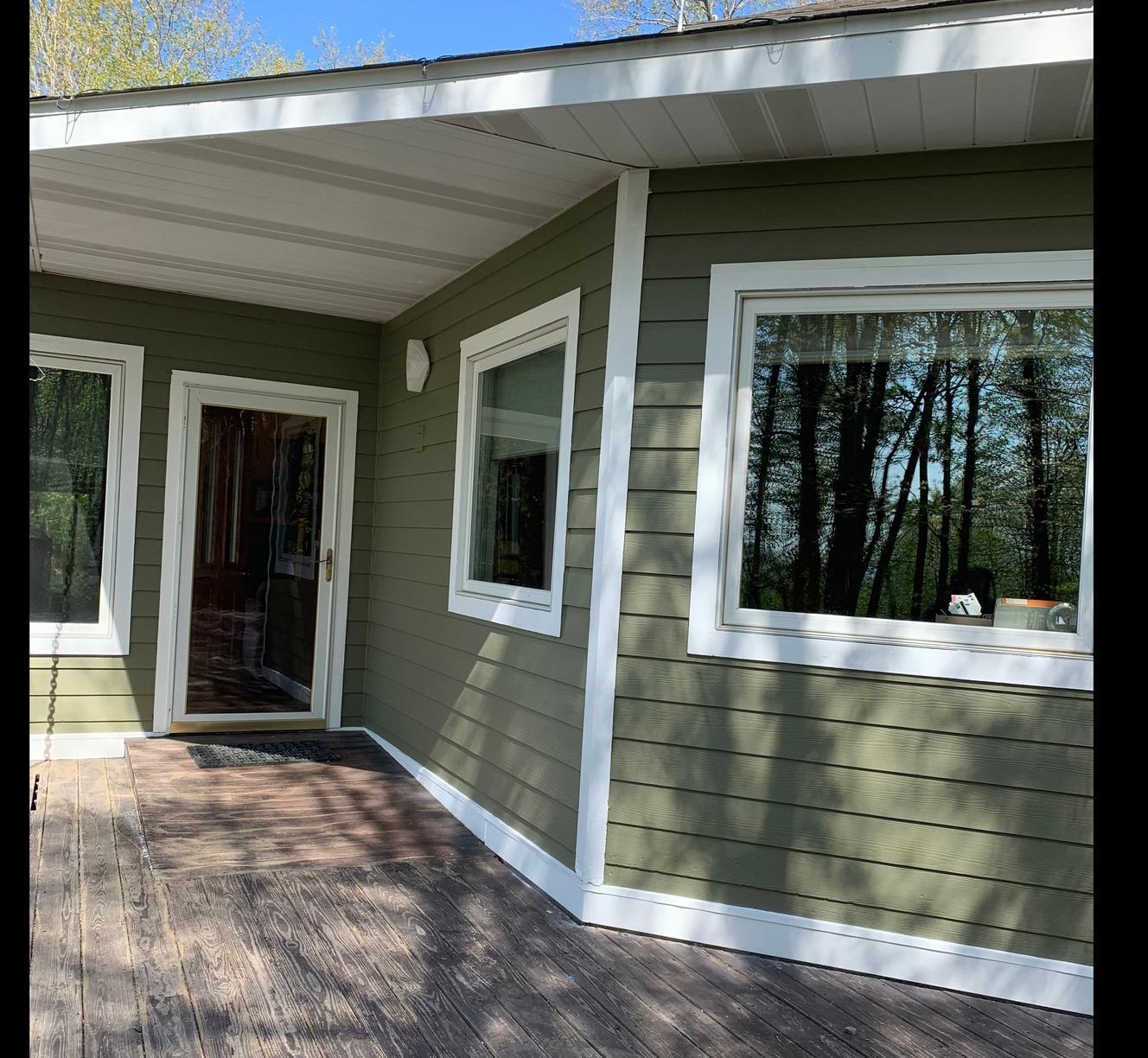 Deep Creek Lake House Painted with Rhino Shield - After Photo