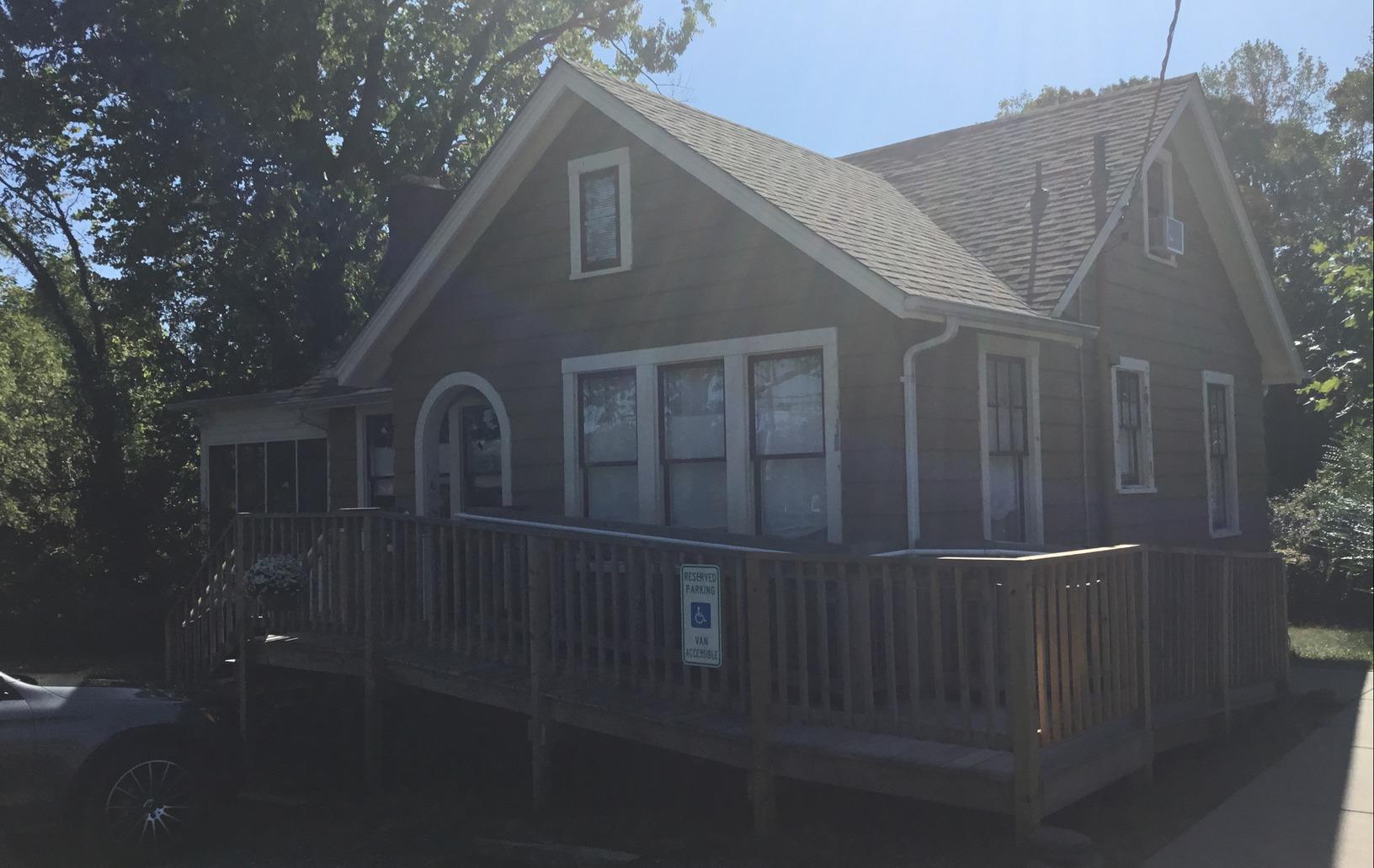 Charming house painted in Annapolis, MD - Before Photo