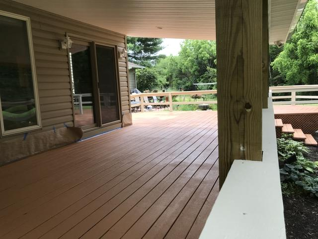 Deck Coating Applied in Gettysburg, PA