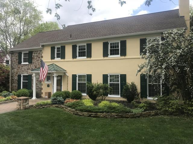 Stucco House Gets Painted with our Ceramic Coating in Newtown Square, PA