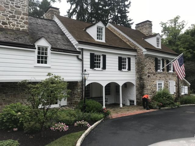 Historic Valley Forge House Painted in a Ceramic Coating