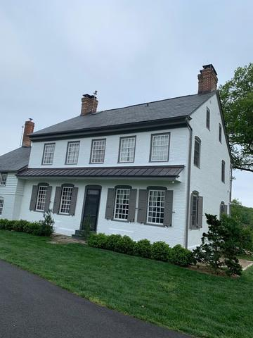 Historic Farm House Painted in Chesapeak City, MD - After Photo