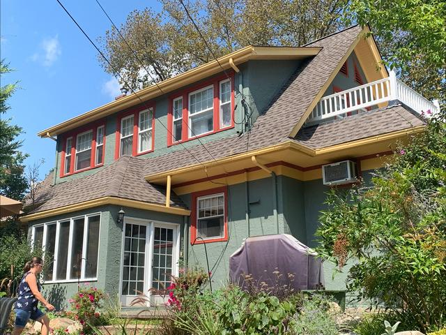 Classic Phoenixville House Painted in Bold Colors - After Photo