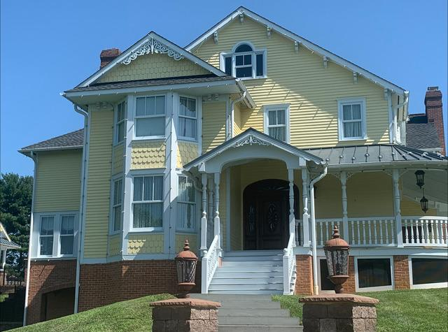 Remarkable Manheim, PA house painted by Rhino Shield - Before Photo