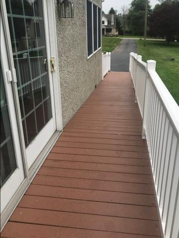 Deck Painting with Acryfin in Malvern, PA - After Photo