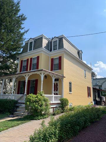 Historic Wilmington House. Rhino Shield Paint on Brick