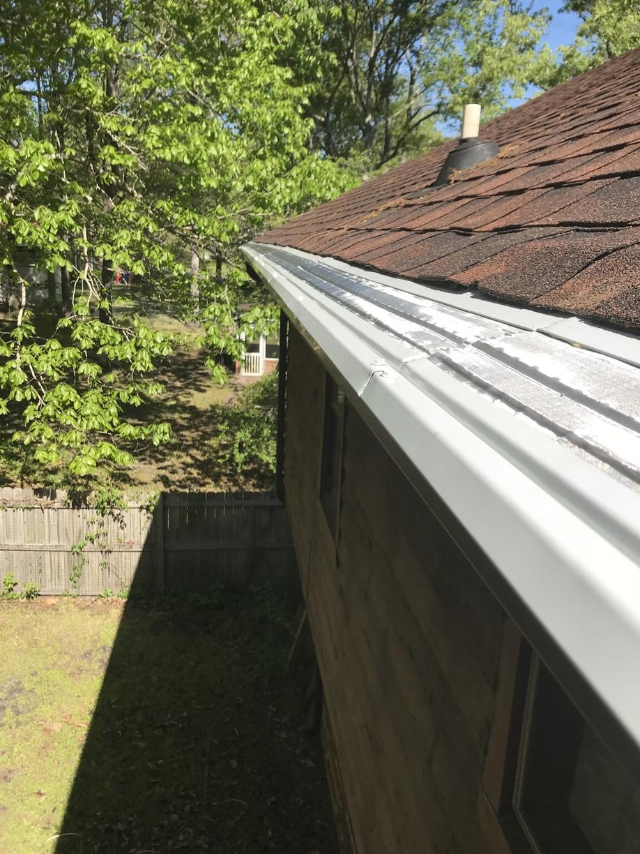 New Gutter Summerville - After Photo