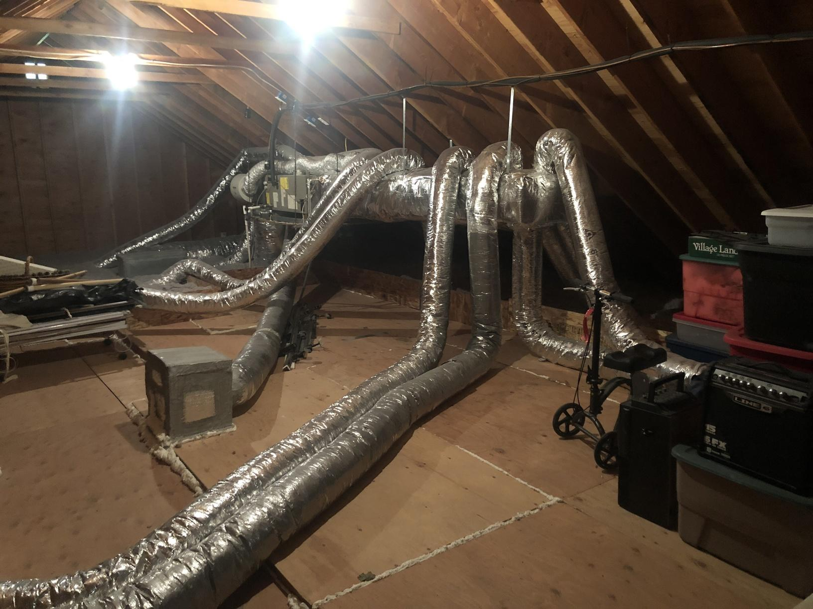 Insulated Duct Wrap,Mattituck NY - After Photo