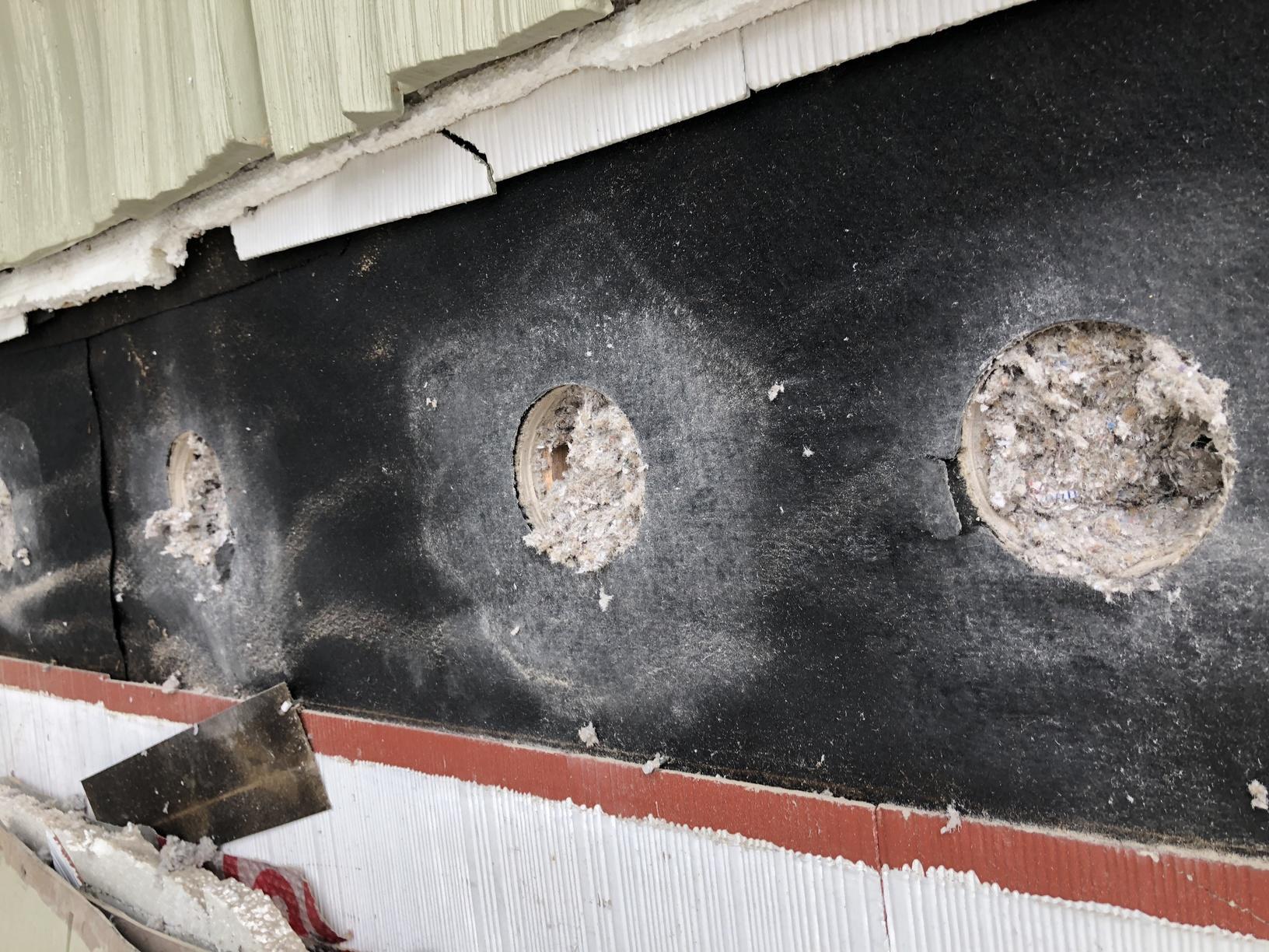 Dense Packing Exterior Walls - Selden, NY - After Photo