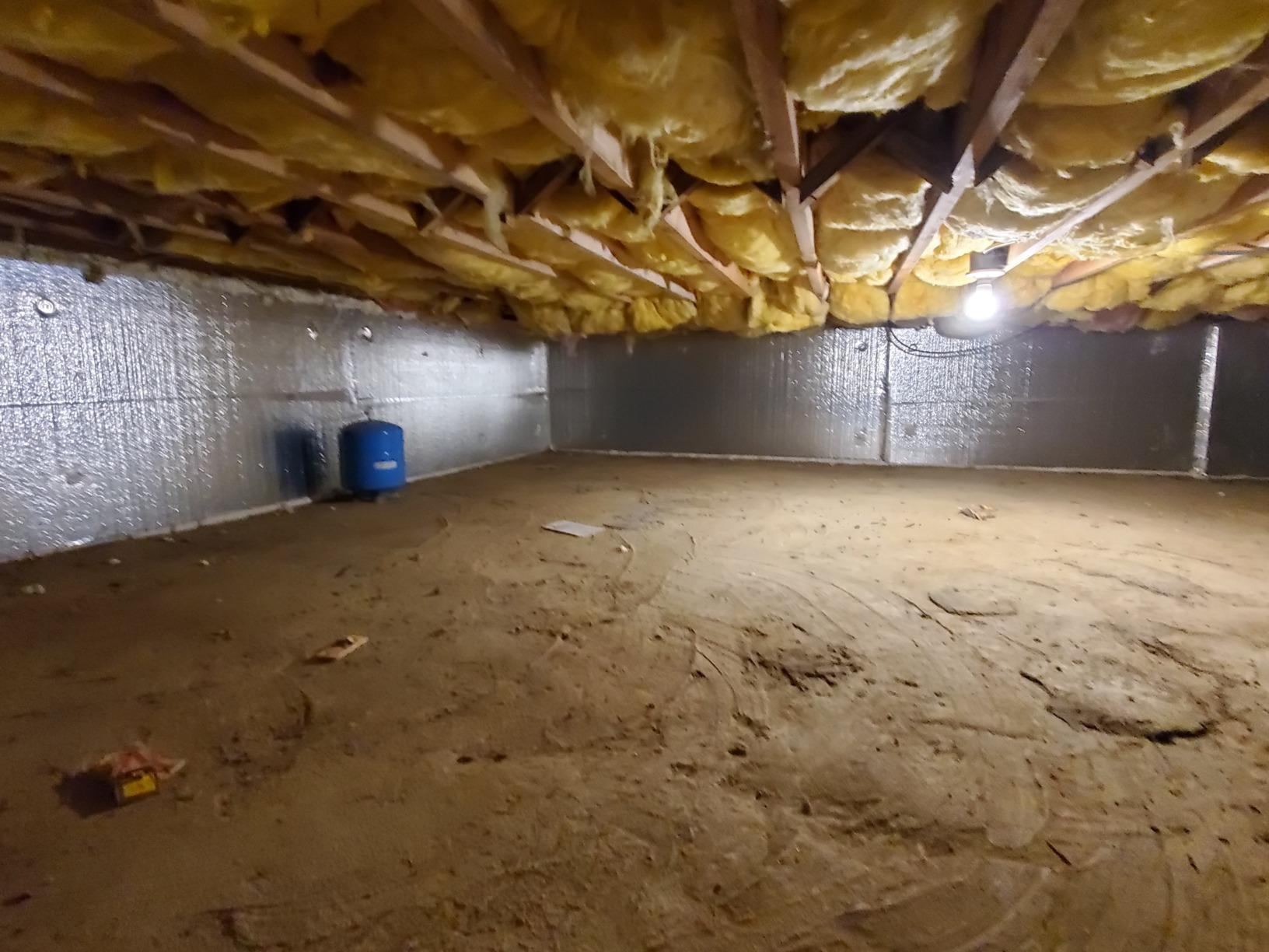 Crawl Space SilverGlo Manhasset NY - After Photo